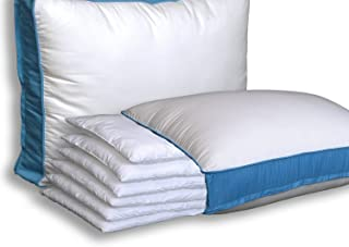 Pancake Pillow The Adjustable Layer Pillow. Queen Size - 2 Pack with Free Extra Pillow Case! Custom Fit Your Perfect Pillow Height.