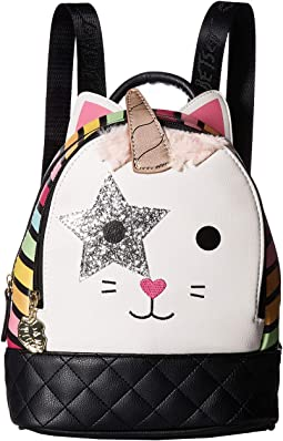 Jazzy Kitch Mid Size PVC Backpack