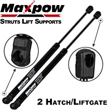 Maxpow Qt2 PM2052 Rear Liftgate Hatch Lift Support shocks struts Compatible With Nissan Armada 2004 2005 2006 2007 2008 2009 2010 2011 2012 2013 2014 With Power Liftgate