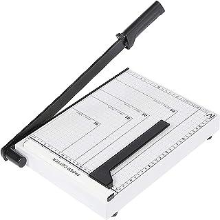 Voluker Massicot A4 30,5 cm Coupe Papier 10 Feuilles, Blanc