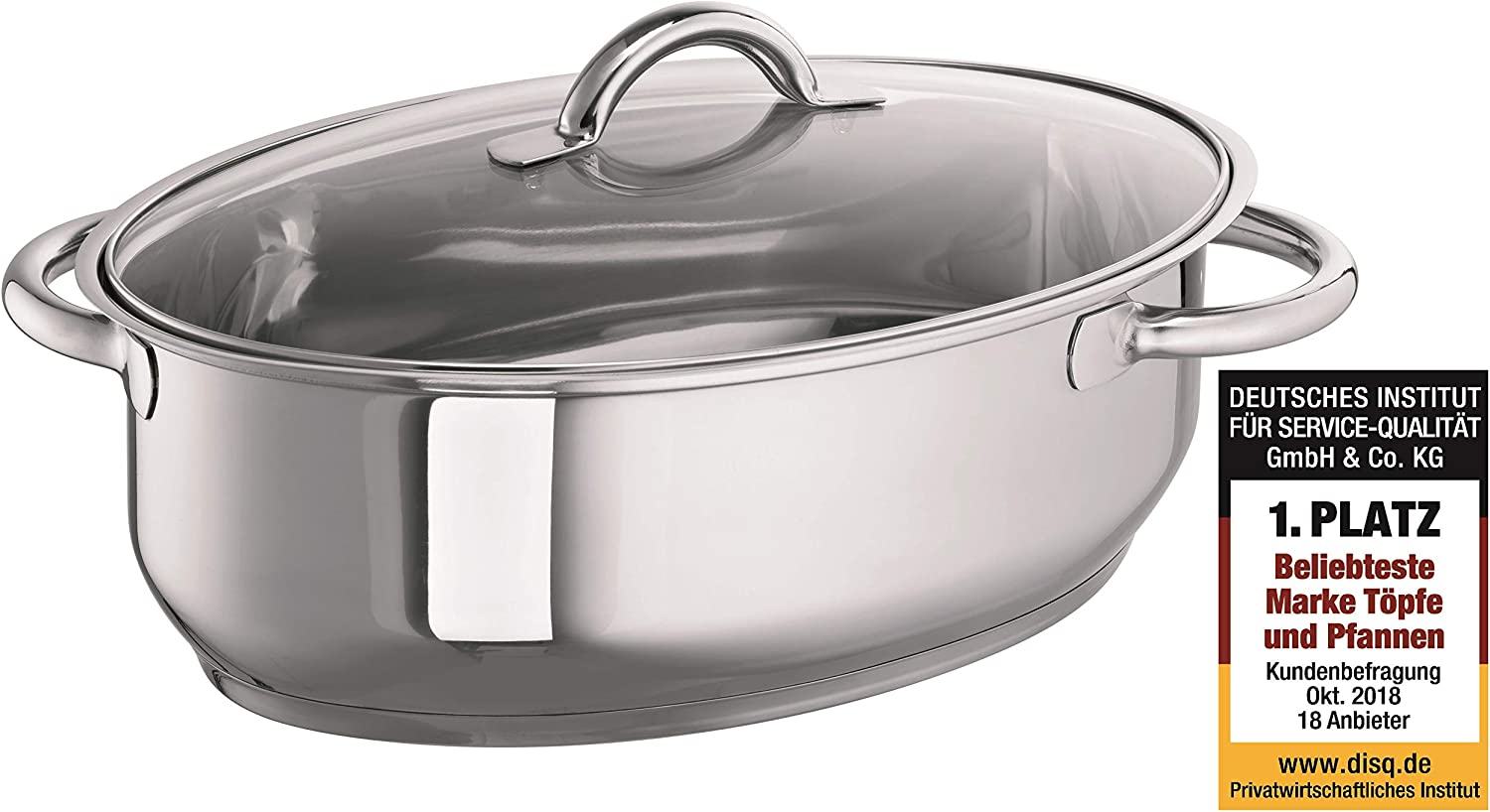 Schulte-Ufer Inexpensive 6768-38 Full-View Roasting Tin 38 All items free shipping for 9.00 L cm Ind