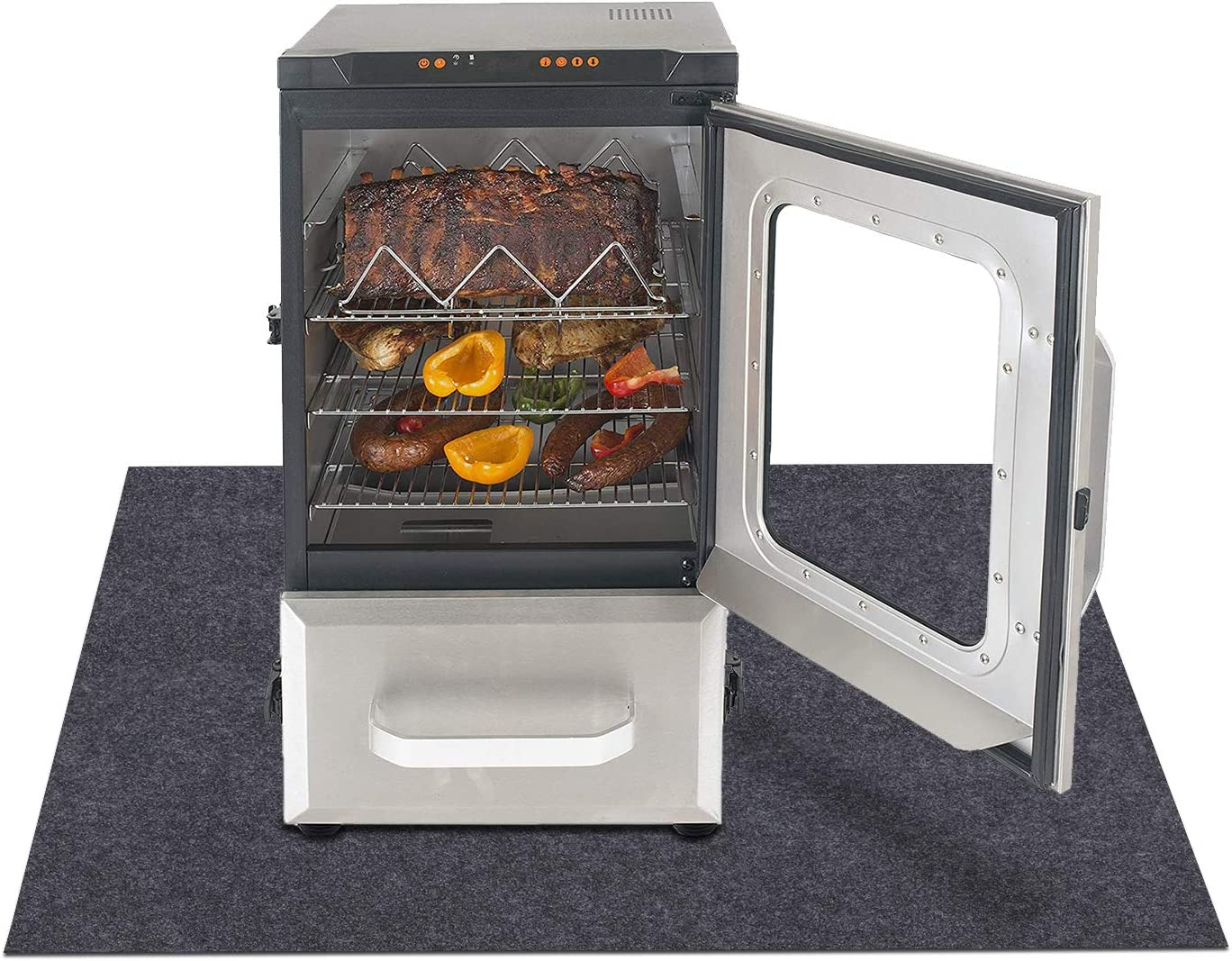 overseas Electric Smoker Mat,Protects wooden Topics on TV liquid and from floors