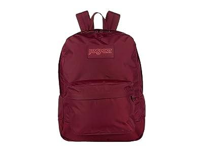 JanSport Mono Superbreak(r) (Russet Red) Backpack Bags