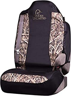 Ducks Unlimited Camo Seat Cover | Shadow Grass Blades