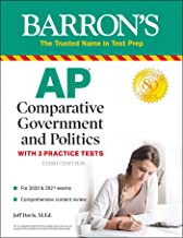 AP Comparative Government and Politics: With 3 Practice Tests (Barron's Test Prep)
