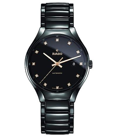 RADO True Automatic Diamonds R27056732 (Black) Watches