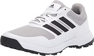Men's Tech Response Spikeless Golf Shoe, Ftwr White/Core Black/Grey Two, 10.5 Wide