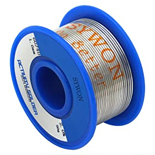 Sywon 60-40 Tin Lead Rosin Core Solder Wire 0.039
