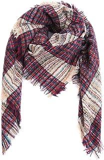 Inverno inverno sciarpa di autunno sciarpa scozzese oversize del MyBeautyworld24 marchio Femminile sciarpa scialle Autunno