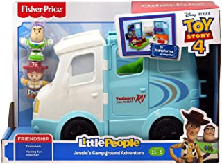 Fisher-Price Jessie's Campground Adventure by Little People