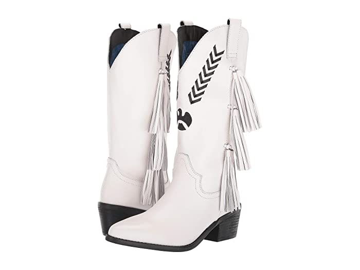 Thunderbird  Shoes (White) Cowboy Boots