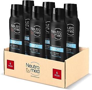 Neutromed, Deodorante Spray Dermo Defense 5 Sport, 900 ml
