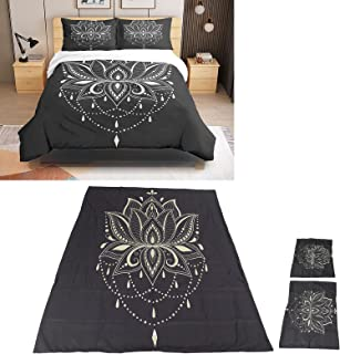 Quilt Cover Kit, Bedding Set Skin‑friendly for Bedroom for Home(135 * 200)