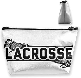 Hand Jinl Lacrosse Portable Trapezoidal Storage Pouch Cosmetic Bag Travel Pouches