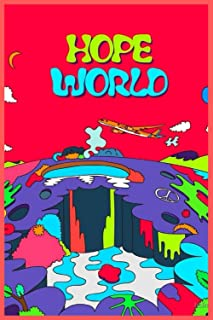 HOPE WORLD: Size (6 x 9 inches) 120 Pages