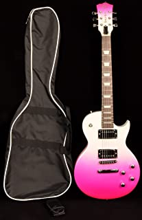 SX GE Rose 2K PKB Pink Electric Guitar 7/8 Size with Bag and Strap