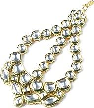Diwali Jewelry/Diwali Gift Kundan/Maang Tikka Hair Accessory for Women and Girls Bollywood Jewelry Wedding Jewelry for Women Indian Traditional Ethnic Jewelry for Women