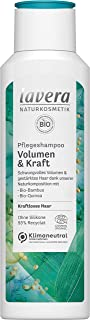 lavera Pflegeshampoo Volumen & Kraft Haarshampoo Feines & Dünnes Haar Naturkosmetik vegan Haarpflege 250 ml 110408