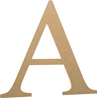 "6"" Wooden Greek Letter Alpha - Fraternity/Sorority Premium MDF Wood Letters (6 inch, Alpha)"
