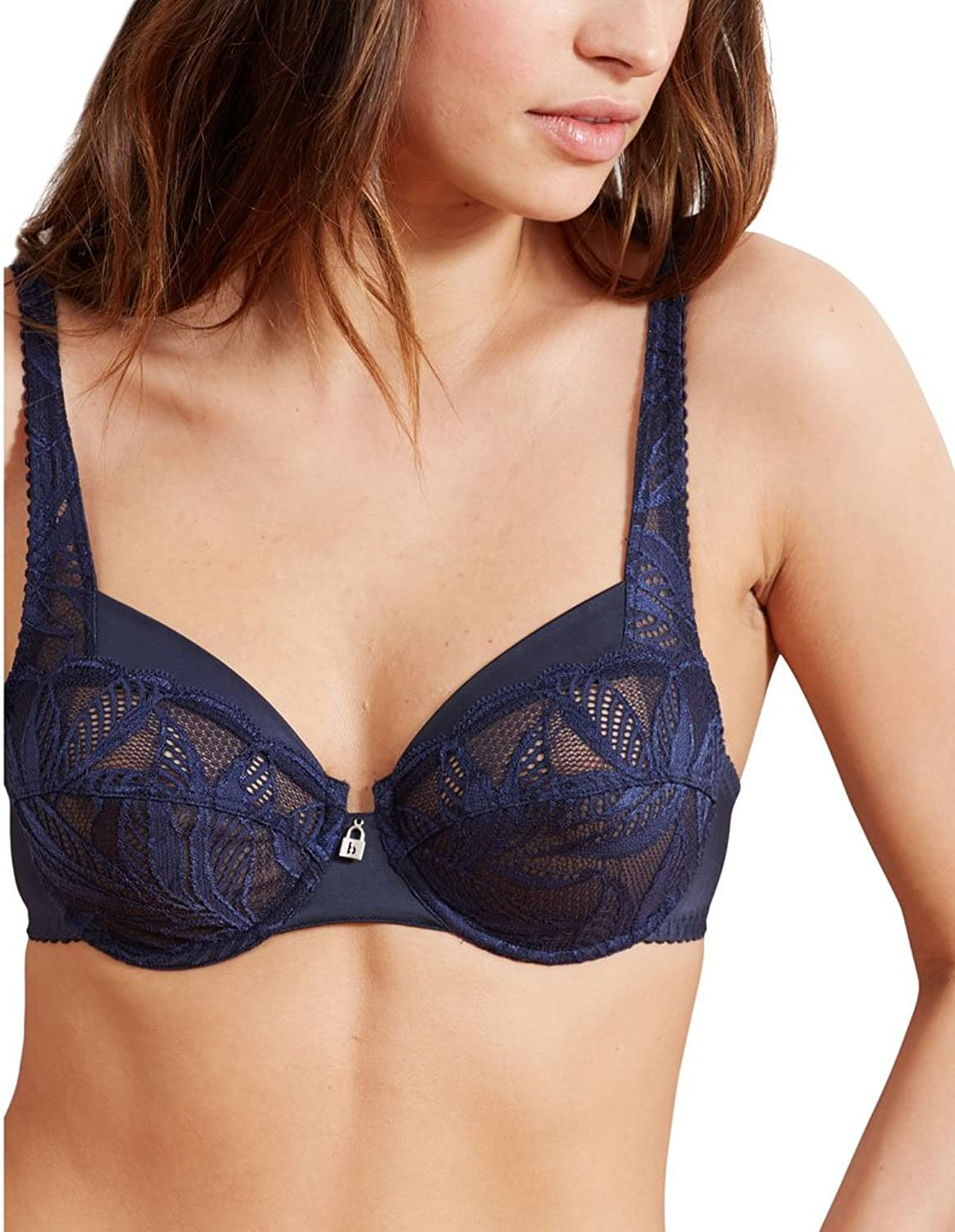 Barbara 42511 Women's Kentia Arizona bluee Navy Lace Full Cup Bra