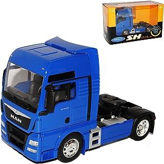 MAN TGX 26.440 3 Achser Weiss Ab 2007 LKW Truck 1//32 Welly Modell Auto mit oder