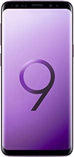 Samsung Galaxy S9 (SM-G960F/DS) 4GB / 64GB 5.8-inches LTE Dual SIM (GSM Only, No CDMA) Factory Unlocked - International Stock No Warranty (Lilac Purple, Phone Only)