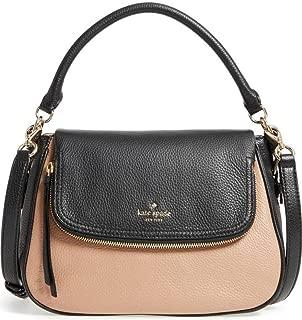 Kate Spade New Yok Cobble Hill Deva Medium Leather Bag, Hazel Black