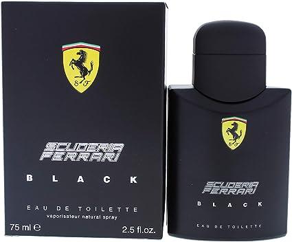 Ferrari Black Eau De Toilette Spray For Him 75 Ml Amazon Co Uk Beauty