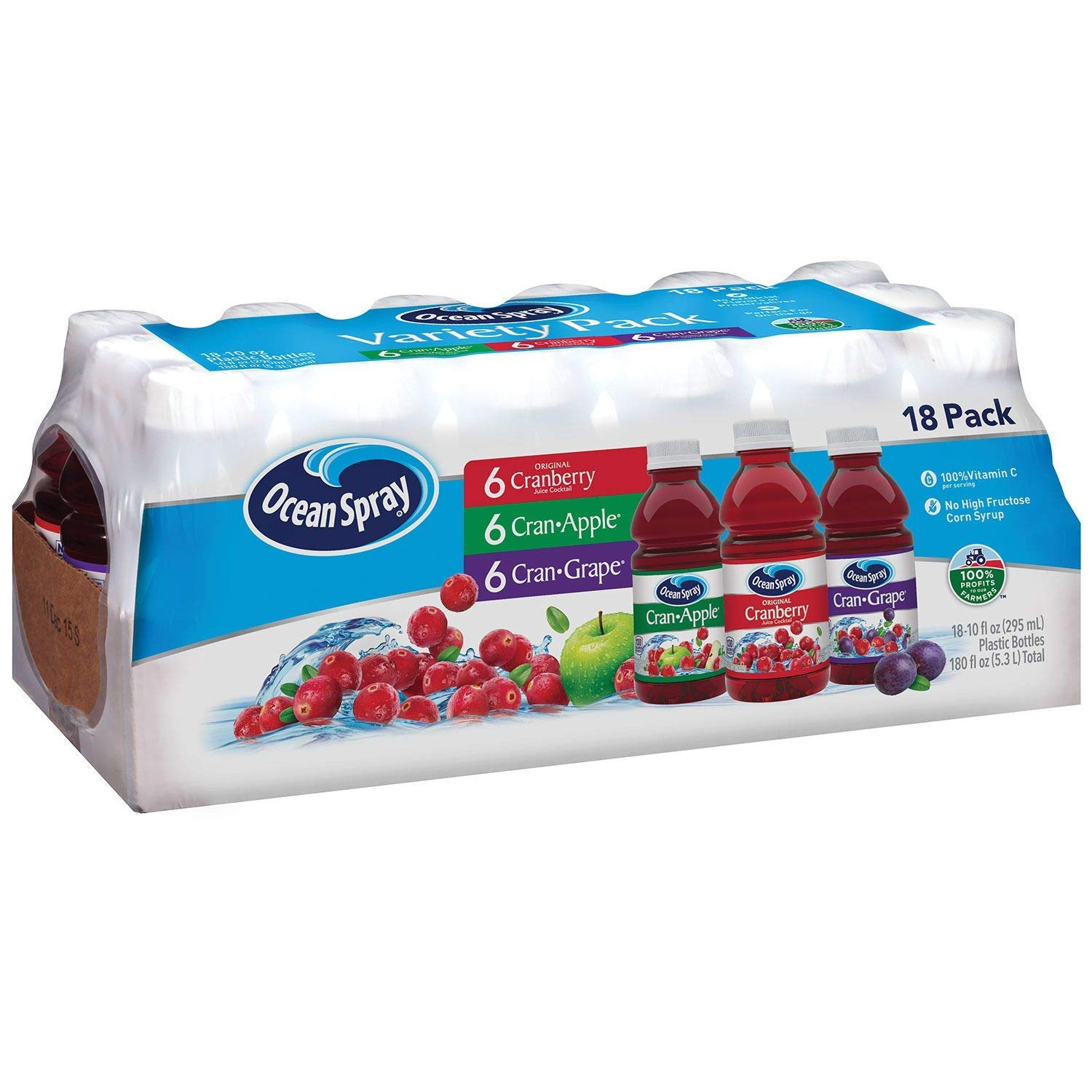 Ocean Spray Juice Drink Variety Pack oz 10 pk. 2 18 of Manufacturer direct delivery Year-end gift