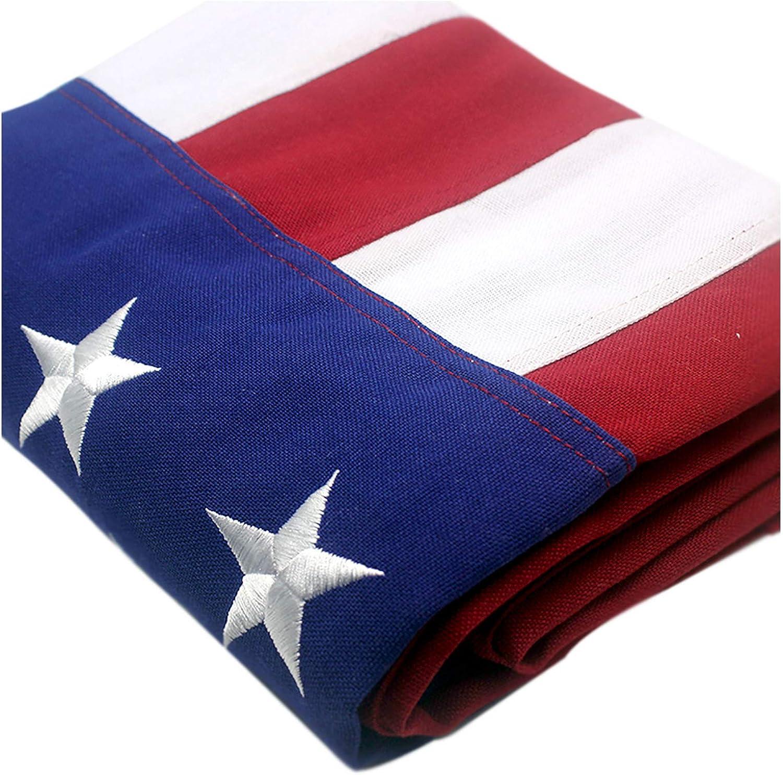 free shipping VSVO American Flag 3x5 Direct store ft – Heavy Spun 300GSM Po Duty Tough