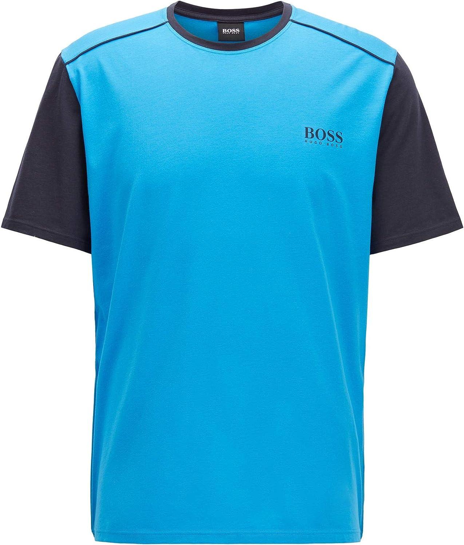 BOSS Balance T-Shirt RN Camiseta de Pijama para Hombre