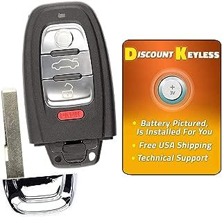 For 08-16 Audi A4 A5 Q5 A6 A7 A8 Keyless Entry Remote Smart Key Fob IYZFBSB802