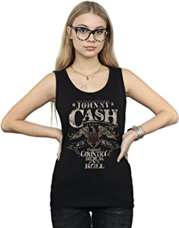 Johnny Cash Women's Country Wings Tank Top