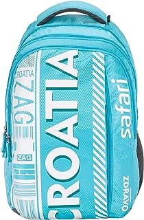 SAFARI 26.5 Ltrs Turquoise Blue Laptop Backpack (WANDERER19CBTBU)