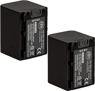 BM 2 NP-FV70 Batteries for Sony FDR-AX700, PXW-Z90V, HXR-NX80, HDR-CX455/B HDR-CX675B, CX330, CX900, PJ340, PJ540, PJ670B, PJ810, FDR-AX33, FDR-AX53, FDR-AX100, NEX-VG10, VG20, VG30, VG900 Camcorders