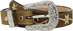 M&F Western - Embroidered Floral Belt (Little Kids/Big Kids)