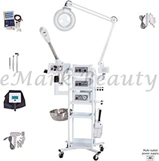 eMark Beauty 9 In 1 T3 Multifunction Facial Machine Ozone Aromatherapy High Frequency Steamer Microdermabrasion. FREE SHIPPING ON ALL WARRANTY WORK.
