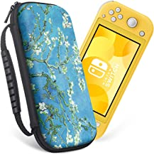 Retear Carry Case for Nintendo Switch Lite 2019 Carrying Cover Accessories with 8 Game Card Slots