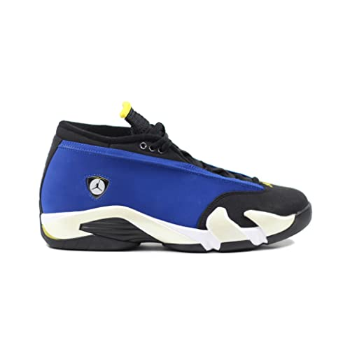 a4f2c77a68c458 Jordan Men Air 14 Low (Blue Varsity Royal Varsity Maize White)