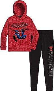 Marvel Avengers Spider-Man Boys 2 Pc Fleece Sets