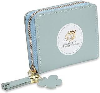 NFI essentials Fashion PU Leather Women's Mini Wallet Clutch Purse Card Holder Small Clutches for Women