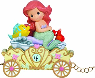 Precious Moments, Disney Showcase Collection,  Make A Splash On Your Birthday, Disney Birthday Parade, Age 4, Resin Figurine, 104406