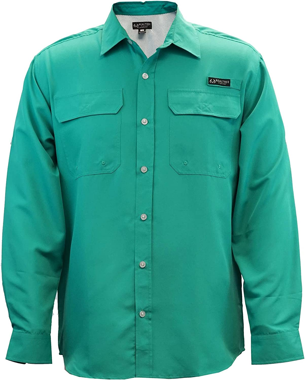 Staghorn Men's Realtree Long Sleeve Shirt Fishing Down Manufacturer direct delivery Button shop