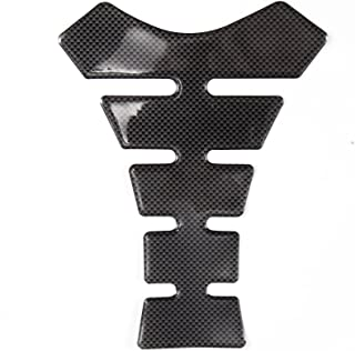 Hamimelon Universal Fit Motorcycle Motorbike Oil Gas Tank Pad Protector Sticker Decal Black