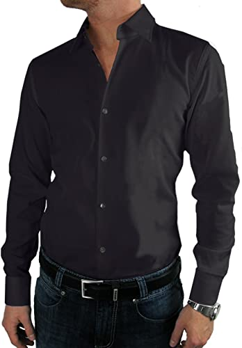 BOSS Hugo Affaires-Chemise   C-Enzo (Regular Fit) Noir 100% Cotton - Noir - XL