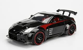 Jada 99111 2003 Nissan 350Z Black JDM Tuners 1/24 Diecast Model Car