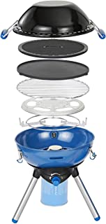 Campingaz Party Grill 400 CV, Camping Stove and Grill, All-in-One Portable Camping BBQ, with Griddle, Grid and Pan Support...