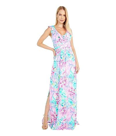 Lilly Pulitzer Mirella Maxi Dress (Multi It Was All A Dream) Women