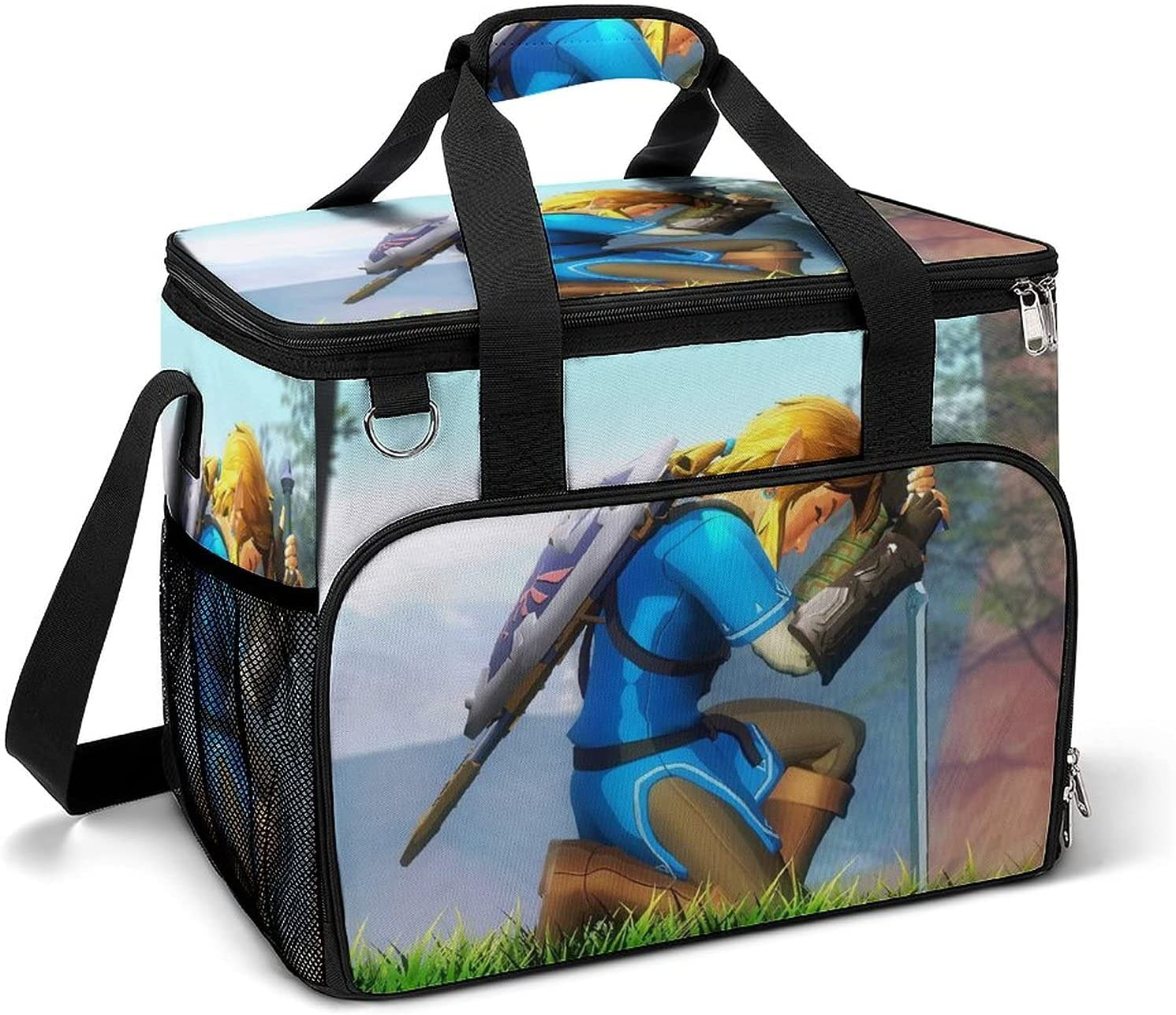 Large Anime Cooler Bag Lunch Airtight ice Camping pack Insu 5 ☆ very popular Max 86% OFF