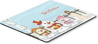 Caroline's Treasures Merry Christmas Carolers Borzoi Mouse Pad,  Multicolor, 7.75x9.25 (BB2354MP)